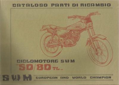 TL50/80 parts list