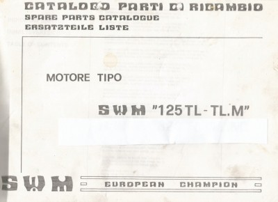 TL125 motor parts