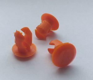 SWM clips orange